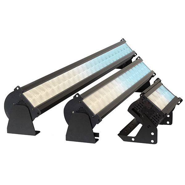 The Chroma-Q® Studio Force II™ LED batten range is the natural choice for Studio Lighting. Optimised for camera, the Studio Force II™ range delivers a high quality, tuneable white output with plus/minus green adjustment and the ability to produce a full spectrum of colours.