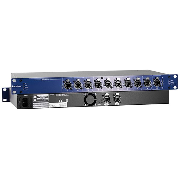 Luminex GIGACORE 12 Network Switch Range