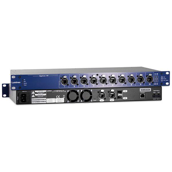 Luminex GIGACORE 14 Network Switch Range
